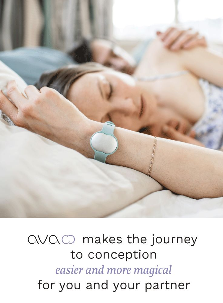 While you sleep, Ava's sensors gather data points on nine physiological parameters. There's no peeing on sticks, no taking your temperature, and no entering tedious data into an app. Just sleep, and Ava does the rest.   In the morning, check your phone for an analysis of the information Ava gathered during the night. You'll see information about your sleep quality, stress level, and, most importantly, your conception probability for that day. Pre-order Ava today for $50 off.
