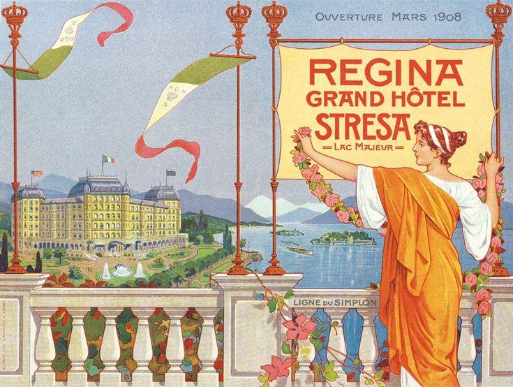 Regina Palace Hotel Stresa The History Poster Art Grand Hotel Palace Hotel