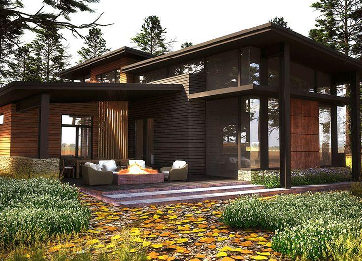 M s de 25 ideas incre bles sobre casas campestres en for Fachadas de casas campestres