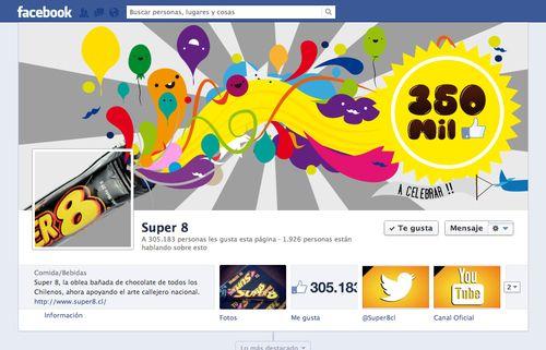 Facebook Cover Design Illustration