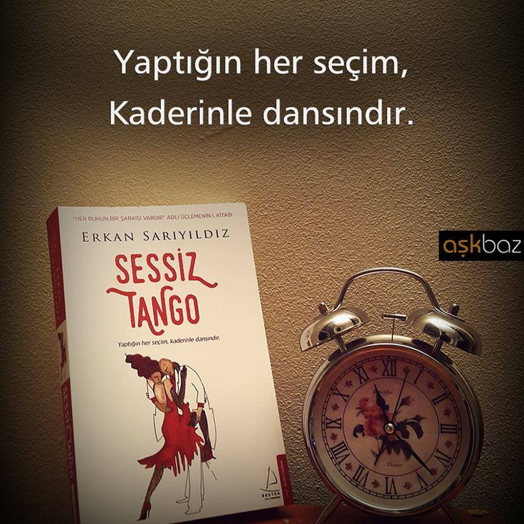 Yaptığın her seçim, kaderinle dansındır.   - Erkan Sarıyıldız / Sessiz Tango  #sözler #anlamlısözler #güzelsözler #manalısözler #özlüsözler #alıntı #alıntılar #alıntıdır #alıntısözler #kitap #kitapsözleri #kitapalıntıları #edebiyat
