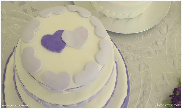 Wedding love cake.