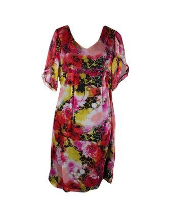 Vue Dress Petal Sleeve
