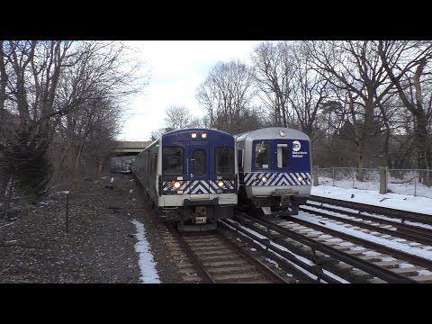 Metro-North Railroad HD 60FPS: 8 Straight Minutes of Rush Hour Trains @ Botanical Gardens (3/20/17) - YouTube