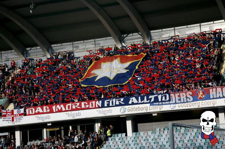 Örgryte IS  Tifo vs. GAIS in Superettan, the swedish second division. -2013