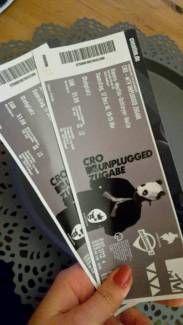 Cro-Konzert Stuttgart in Rheinland-Pfalz - Bornheim Pfalz | Konzertkarten und Tickets kaufen und verkaufen | eBay Kleinanzeigen