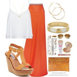 Boho Chic Maxi Skirt Outfit