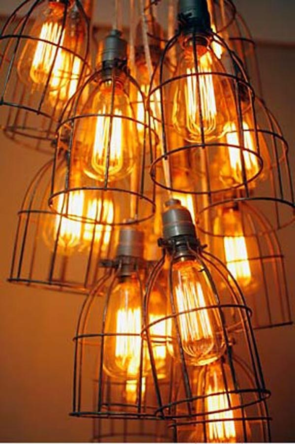ChandelierDecor, Chand Ideas, Cages Chand, Cages Lite, Vintage Chand, Industrial Chand, Design Ideas, Bulbs, Cages Lights