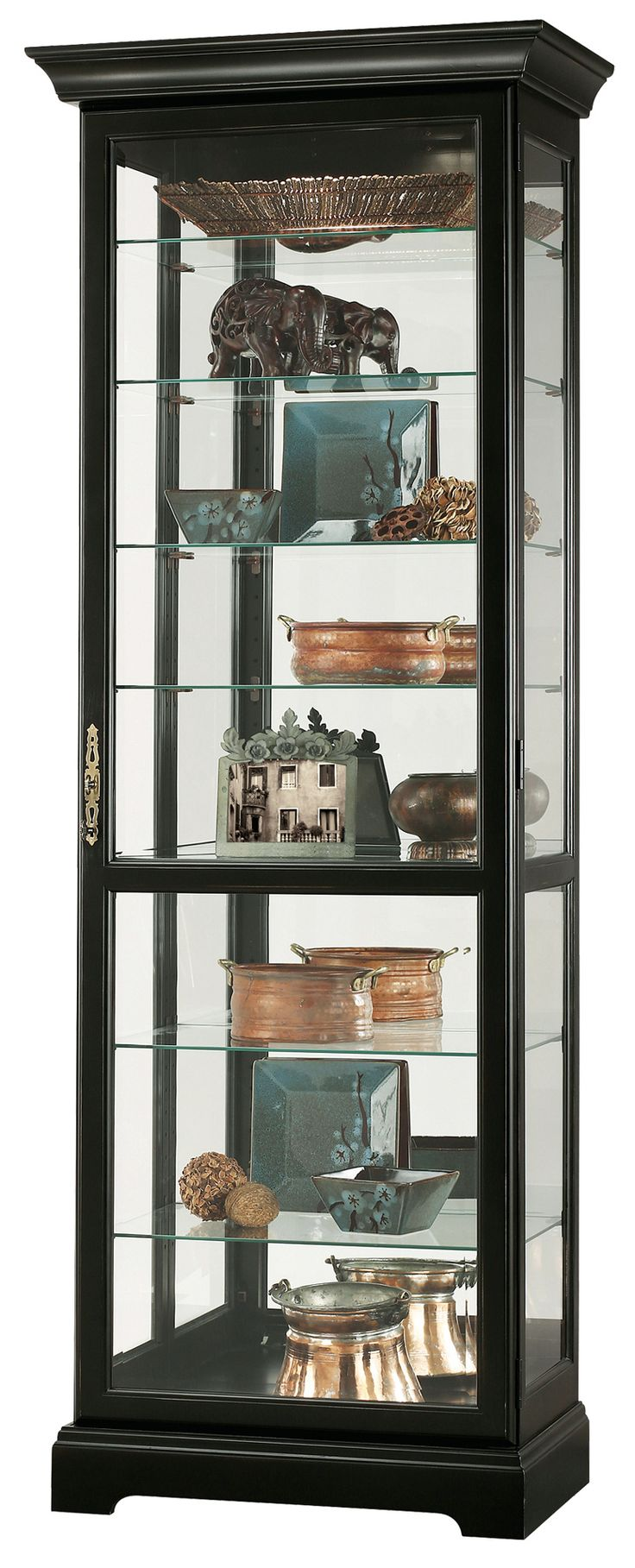 Unique Howard Miller Curio Cabinet