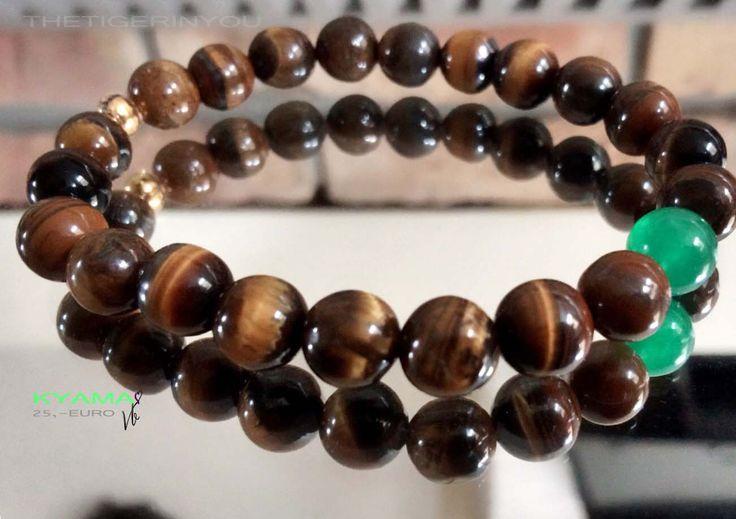 Tiger eye beads #tigereye #beads #bracelet #men #style #fashion