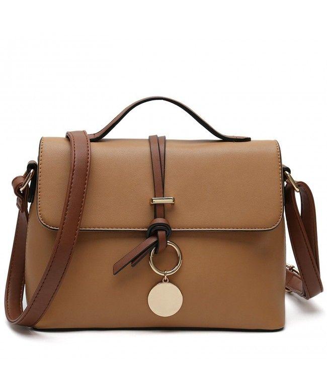 Stylish Cross Body Purses For Women Fashion Shoulder Bag Ladies Designer  Handbag - Light Brown - CK189ZQZLU2  Bags  Handbags  Crossbodybags  gifts   Style 2866ea22db0e1