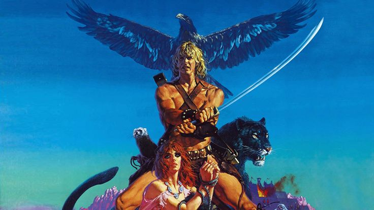 The Beastmaster (1982) with Mark Singer is probably my first fantasy flick I whatched. From that point on, I was hooked on horror, fantasy and sience fiction.