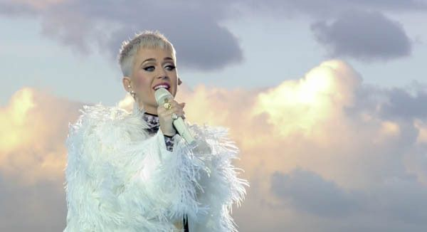 Katy Perry Slays Powerful One Love Manchester Performance Of 'Roar' & 'Part OfMe'