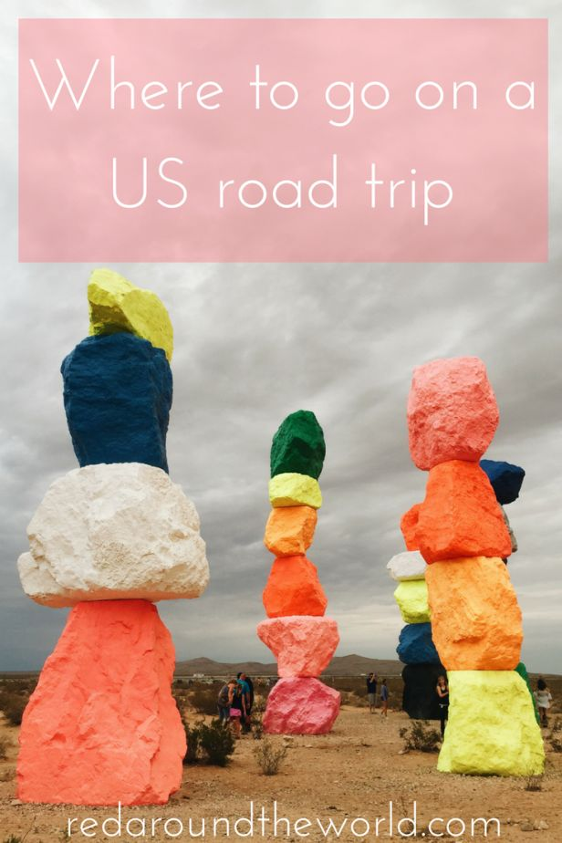 Where to go on a US road trip