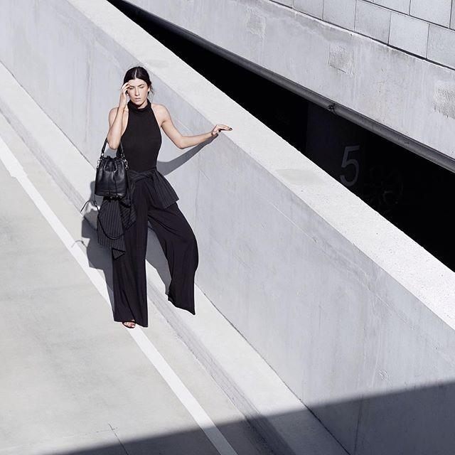 @minutiae_au Bucket bag in black leather ✔️✔️ #Minutiae #Inthedetails