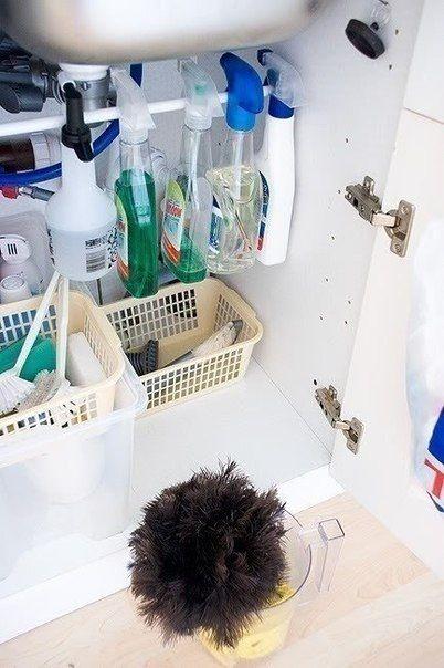 Хранение моющих средств