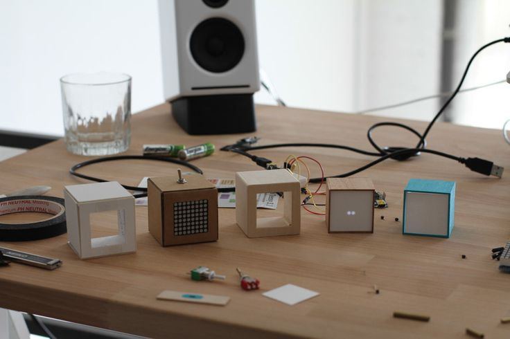 A series of prototypes with an increasing degree of definition