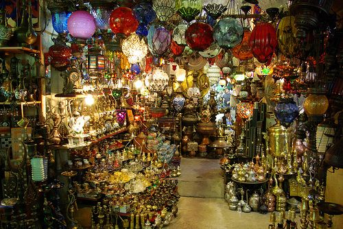 One of my most favorite places: grand bazaar Istanbul... I could spent days wondering around in here :)