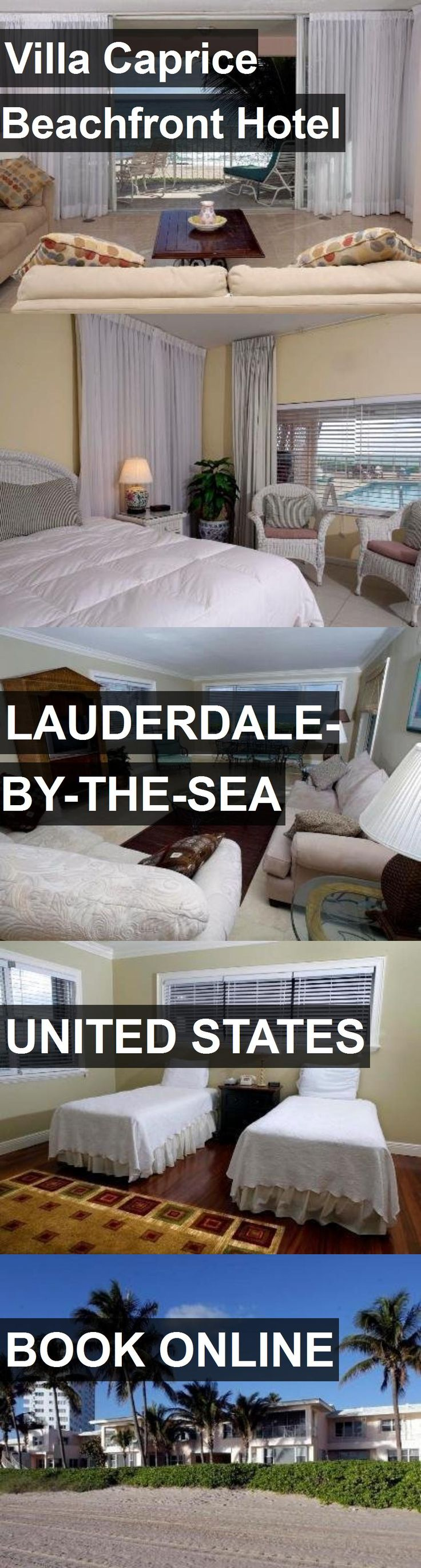 Hotel Villa Caprice Beachfront Hotel in Lauderdale-By-The-Sea, United States. For more information, photos, reviews and best prices please follow the link. #UnitedStates #Lauderdale-By-The-Sea #VillaCapriceBeachfrontHotel #hotel #travel #vacation