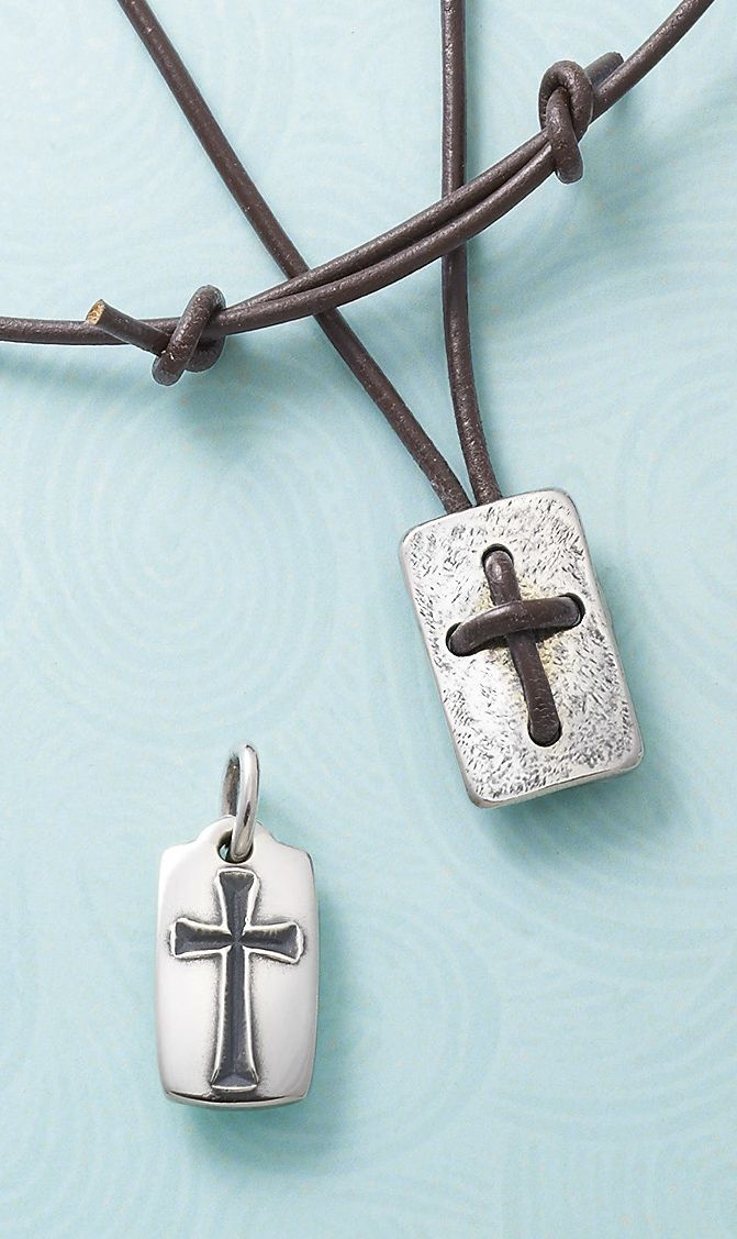307 mejores imgenes de james avery en pinterest anillos james chiseled cross pendant and leather cross shield necklace jamesavery cross aloadofball Gallery