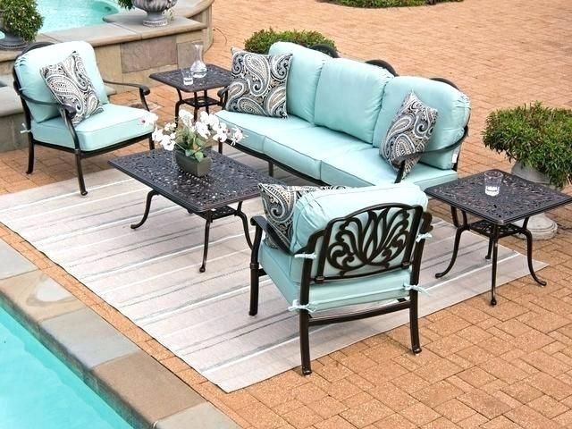 Sunbrella Weather Resistant Outdoor Patio Furniture Lasts Season