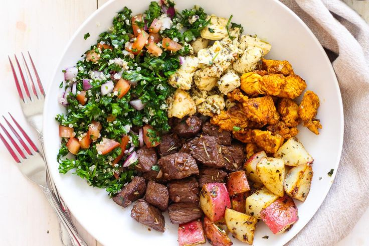 Mediterranean Mixed Grill Bowls - The Girl on Bloor