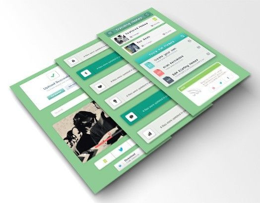Memetica™ App UI – UX Concept Development by Fran Fernández, via Behance