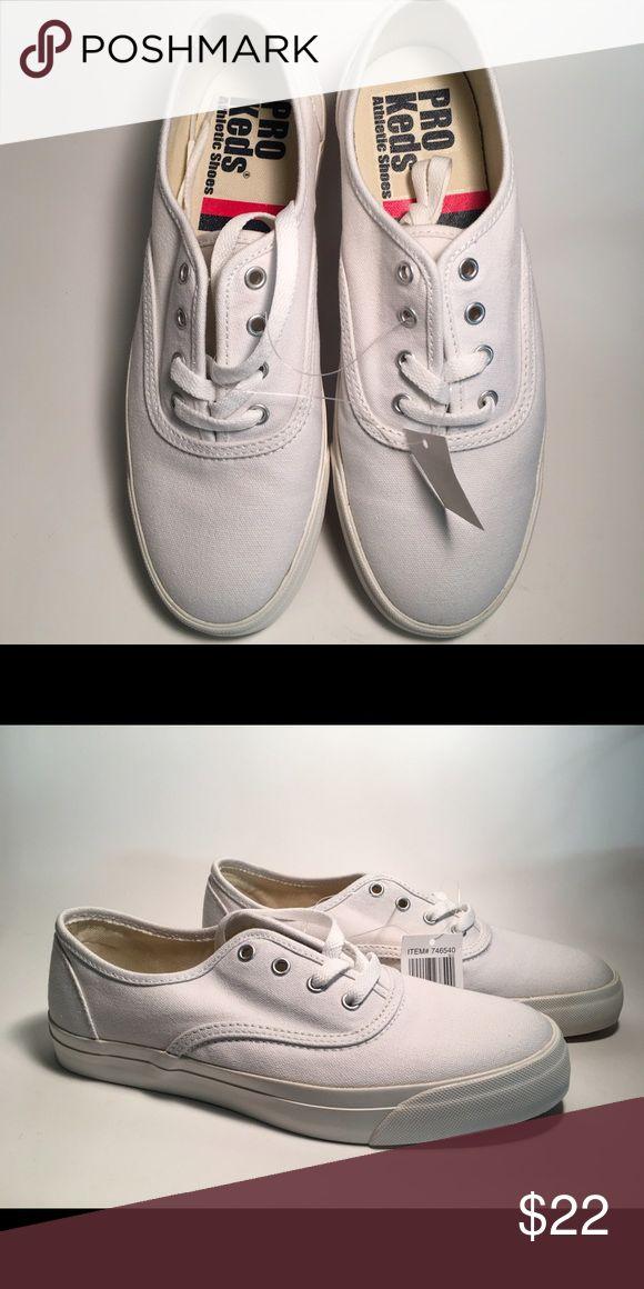 white pro keds size 9
