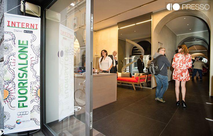 Evento inaugurativo PRESSO - Porta Nuova, Milano con Berkel, Alessi, Poretti - Carlsberg e Ballarini, www.presso.it