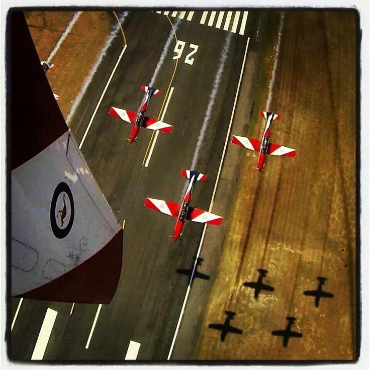 RAAF Roulette flying display October 2014