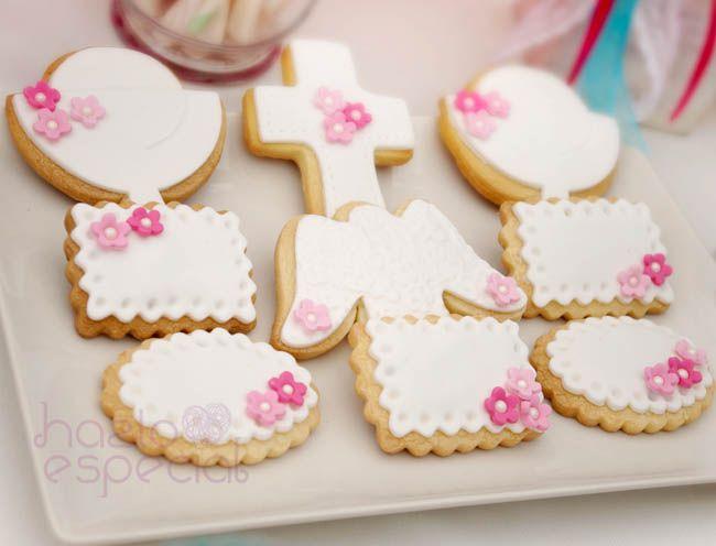Galletas Comunión ♥Hazlo Especial♥ http://hazloespecial.es/receta-galletas-decoradas/