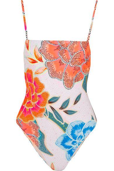 Mara Hoffman - Floral-print Swimsuit