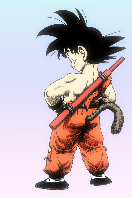 KID GOKU  #dragonball #anime #goku #MONKEY