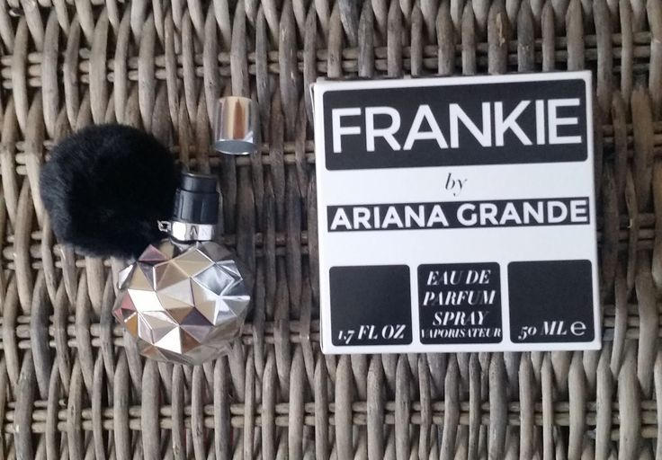 Looking online and searching specifically for scents  i came across Frankie By Ariana Grande . Now...