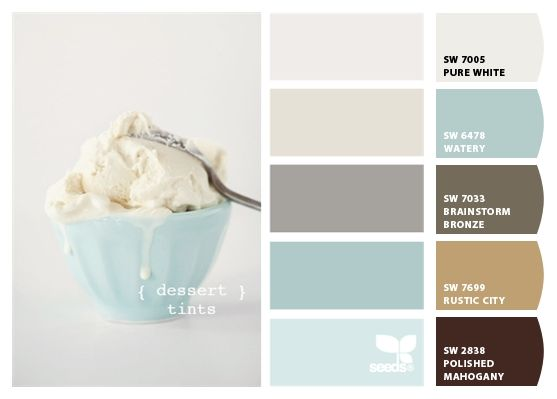 color inspiration from ice cream of course these light reflecting colors will make a room bright and airy - What Makes The Color White