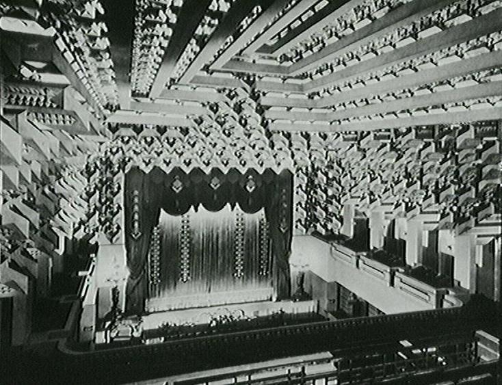 Griffin WB: Theatre Melbourne Melbourne Capitol Theatre interior 1924