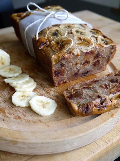Vegan Banana and Date Loaf