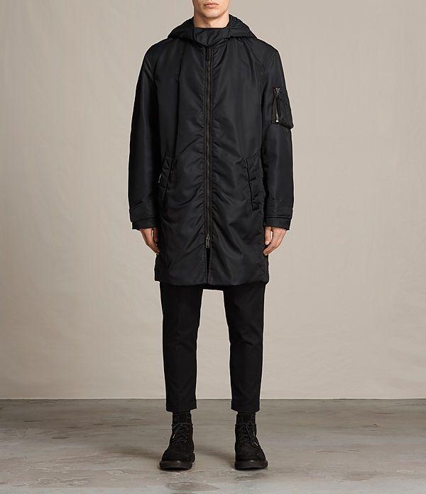 1000  ideas about Black Parka Coat on Pinterest | Canada goose