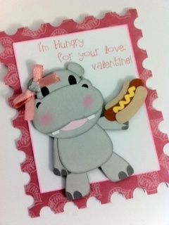 valentine's day hippo stuffed animal