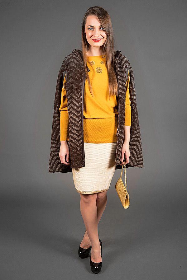 Fur Lined Poncho