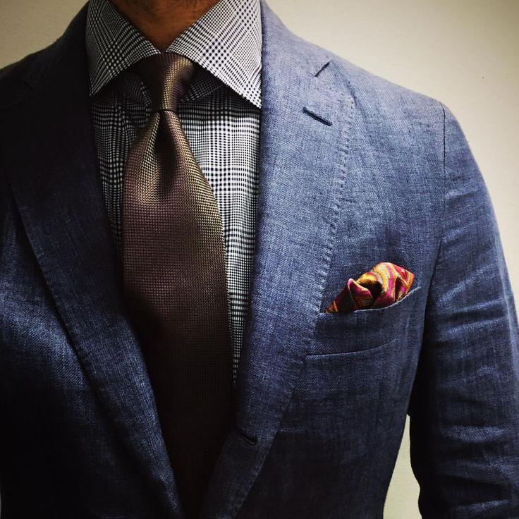 Is it Friday yet? Epaulet by Southwick Linen jacket The Armoury shirt Charvet tie Robert Talbott pocket square #menswear #mensfashion #wiwt #thearmoury #charvet #tie #roberttalbott #pocketsquare #luxeswap #epaulet #southwick (at LuxeSwap)