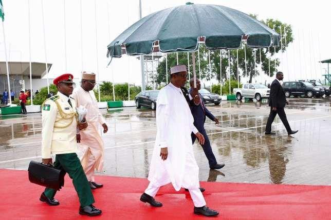 President Muhammadu Buhari departs Abuja for Kenya to attend the 6th Tokyo…