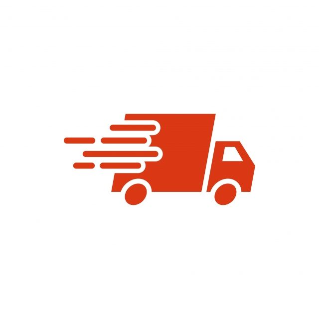 Fast Delivery Truck Icon Graphic Design Template Vector Icon