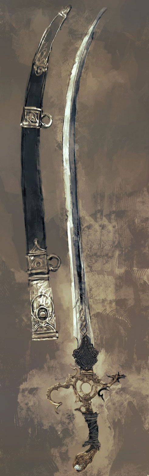 One of the great lost treasures of Molthaven, and even the Forgotten Kingdoms, a saber of a long dead God-King, the rulers of the Forgotten Kingdom, a scimitar said to have been drawn from the wounds of the Father of Silence himself