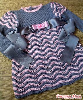 Подарок внучке - Помощь в вязании - Страна Мам