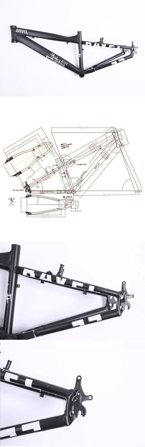 Other Bike Components and Parts 57267: Bavel Bmx Dirt Jump Park 26 Frame Black 100% New Strong -> BUY IT NOW ONLY: $90.99 on eBay!