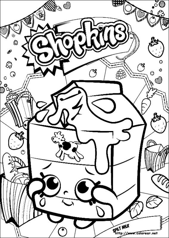 Dibujo De Para Imprimir Shopkins Para Colorear Shopkins Dibujos Imagenes De Shopkins