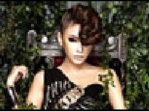 Ga In Brown Eyed Girls  SEXY dalam Pakaian Hitam