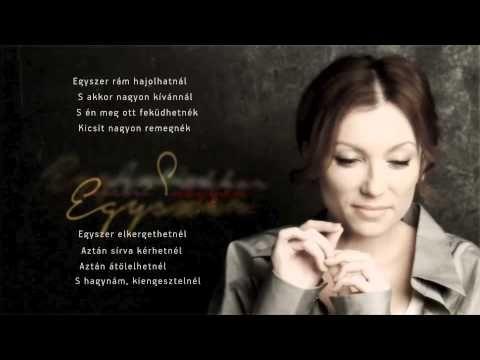 Rúzsa Magdolna - Egyszer (Official Music Video) - YouTube