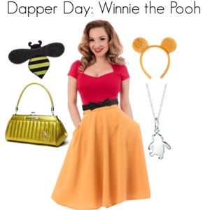 Disney bound as Winnie the Pooh with these great pieces from Steady Clothing